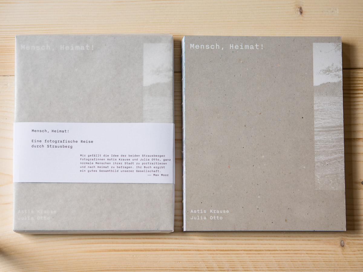 Buch Mensch, Heimat! Julia Otto & Astis Krause